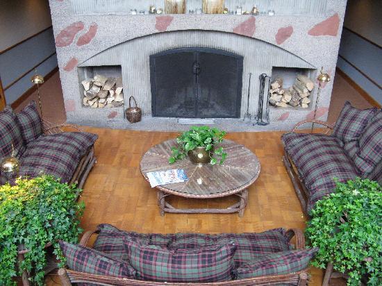 Hotel Lenado: Innenbereich mit Kamin