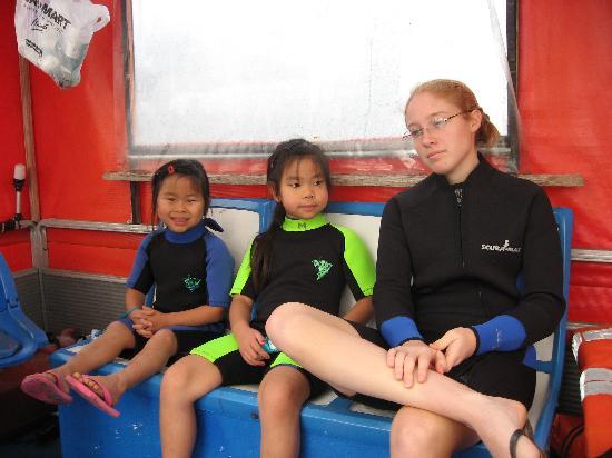 โฮโมซัสซา, ฟลอริด้า: Double Wetsuits/Double Bouyancy