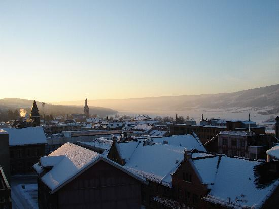 Scandic Victoria Lillehammer: View from the Balcony