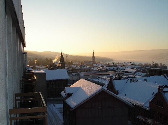 Scandic Victoria Lillehammer: View in the Other Direction From Balcony