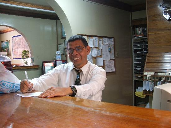 Hotel Don Carlos: very helpful concierge