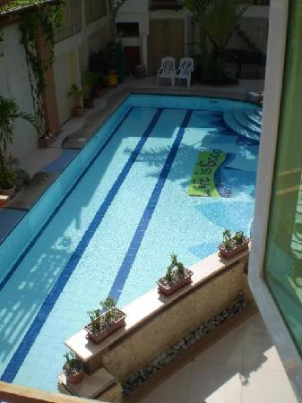 Boracay Beach Club: the beautiful pool at the hotel