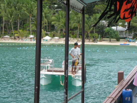 Lima Coco Resort: Shuttle Fähre - Resort