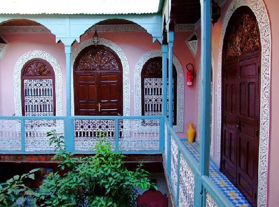 Riad Dar Tamlil : Die obere Etage mit drei Zimmern