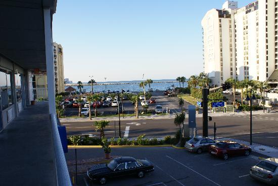 Clearwater Beach Hotel : La vue de la terrasse de l'hôtel