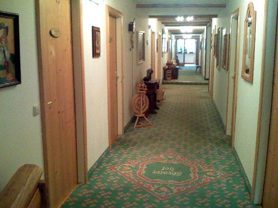 Försterhof Hotel: Hallway in hotel