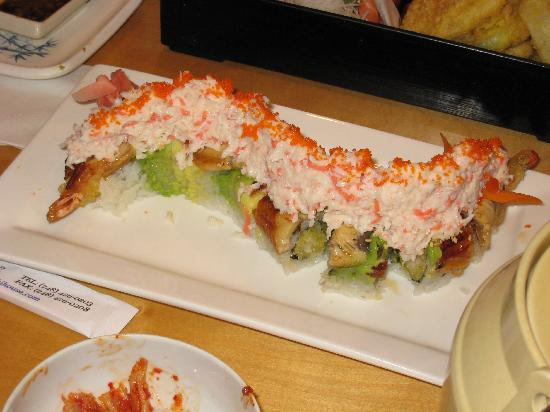 Sushi House: House Special Roll - the best roll in the house!