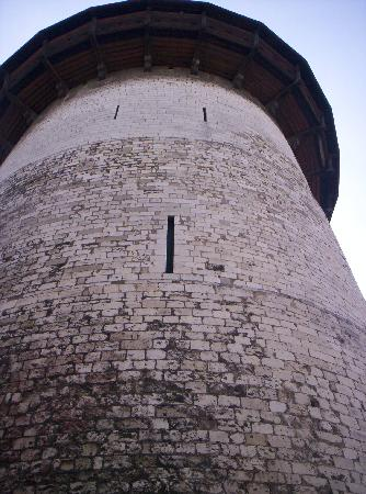 Tour Jeanne d'Arc: Shot of prison tower