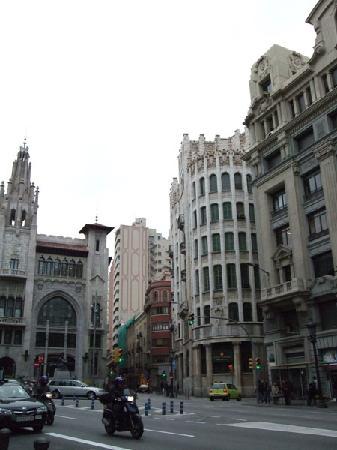 Barcelona, España: via laetana