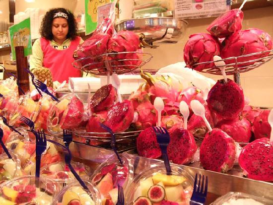 Barcelona, España: boqueria market