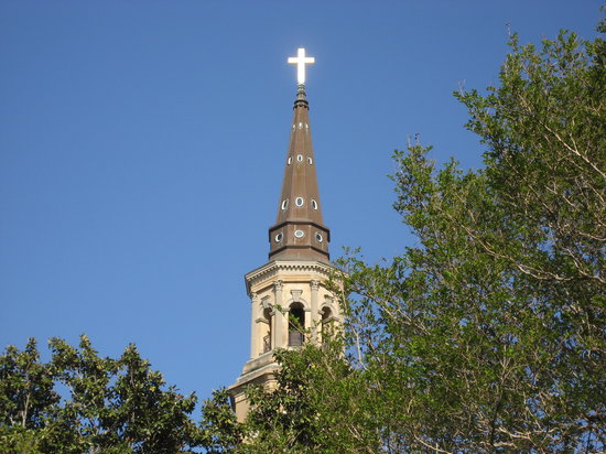 Charleston, Carolina del Sur: St Phillips on Easter Sunday