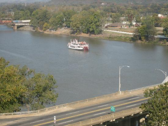 Doubletree Hotel Little Rock: View from Room