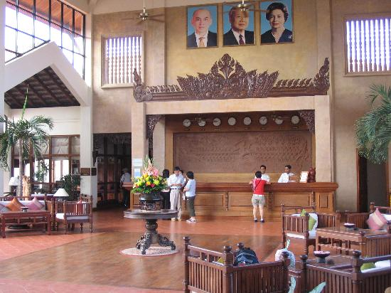 Angkor Palace Resort & Spa: Reception Hall