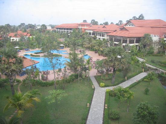 Angkor Palace Resort & Spa: Birds Eye View