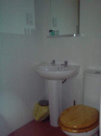Crown Inn: Bathroom in a standard room (room 5)