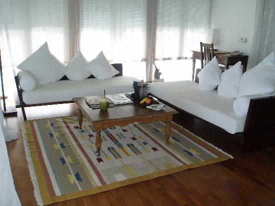 COMO Cocoa Island: luxury in the lounge