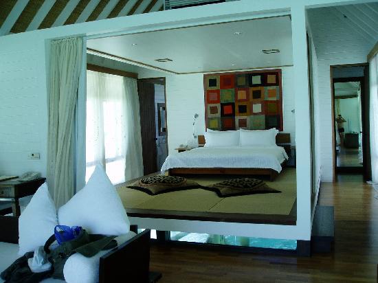 COMO Cocoa Island: luxury in the bedroom
