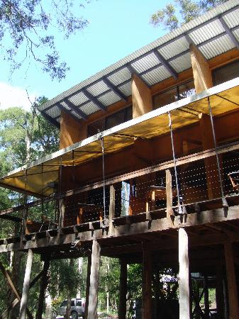 Paperbark Camp: Hotel dinning and reception
