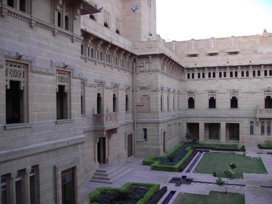 Umaid Bhawan Palace Jodhpur: Cours intérieure