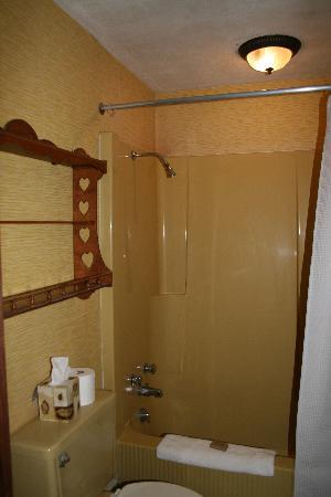 The Centre Bridge Inn: Our Private Bathroom.