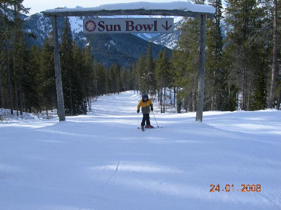 Panorama Mountain Resort: The Sun Bowl - It's big!