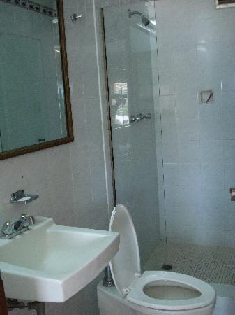 Tower House Suites: El baño. Decente.