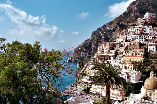 Baking in the sun, Positano