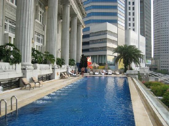 Gym View 2 Picture Of The Fullerton Hotel Singapore Singapore Tripadvisor