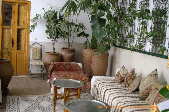 Riad Miski: lounge