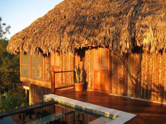 Blancaneaux Lodge : Our cabana