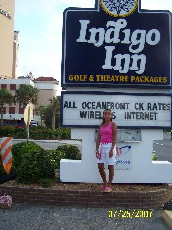 Indigo Inn: Sign of a GREAT hotel!