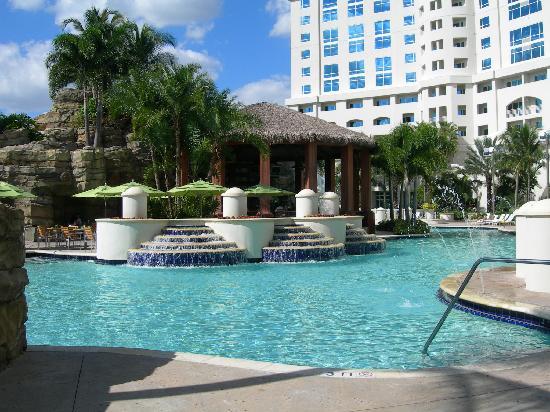 Seminole Hard Rock Hotel Hollywood : Le bar de la piscine