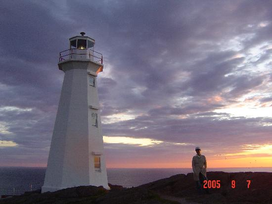 Cape Spear Lighthouse: Cape Spear at sunrise