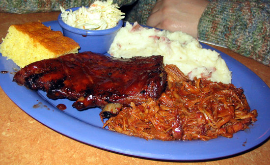 Marlborough, MA: ribs and pulled pork