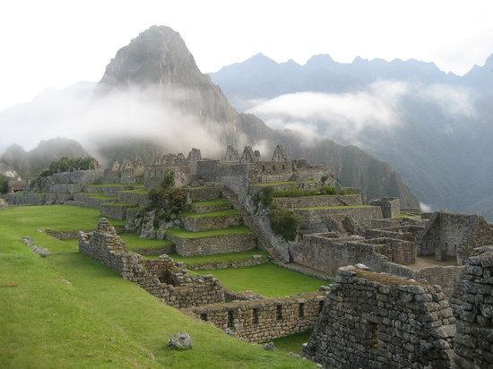 Early morning atop Machu Picchu