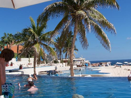 Club Regina Los Cabos: View from my lounge chair at Westin