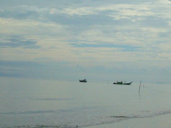 Sematan Village: View from Sematan Beach