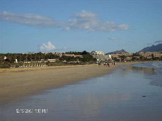 Morasol Atlantico: der strand vor das hotel