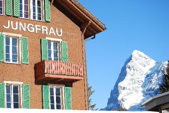 Hotel Jungfrau : Guess what it's named after?