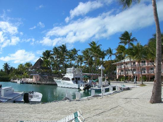 Chesapeake Beach Resort: kleiner Hafen im Resort. Angelfahretn möglich
