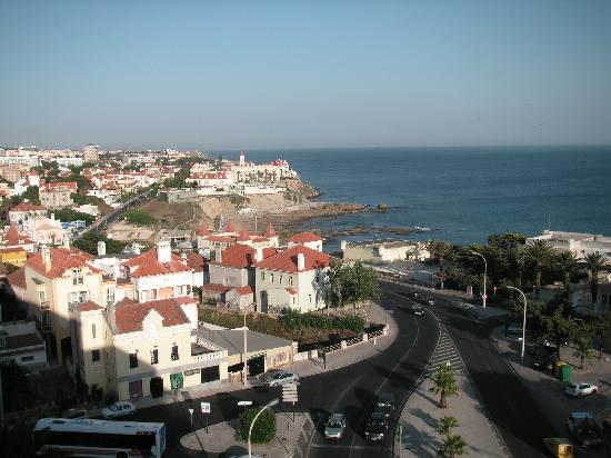 SANA Estoril Hotel: View from room left