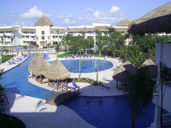 Grand Riviera Princess All Suites Resort & Spa: Vista desde la Habitación