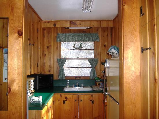 Braeside Cabin: kitchen