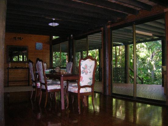 Wait a While in the Daintree: The Dining Room