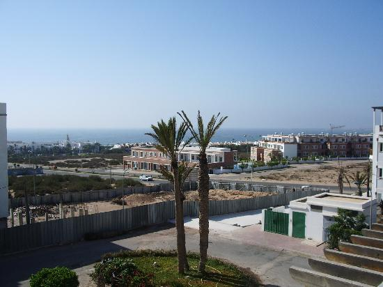 Hotel Residence Rihab : view to beach