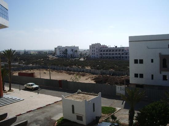 Hotel Residence Rihab : view from front of hotel