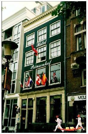 Prinsenhof: Front of the Hotel