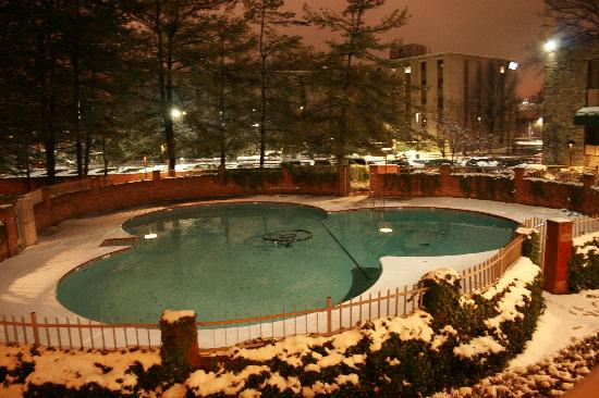 BEST WESTERN Fairfax: Pool in Winter
