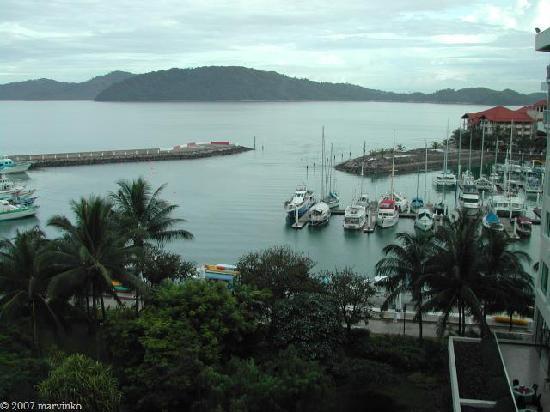 Sutera Harbour Resort (The Pacific Sutera & The Magellan Sutera): view from room