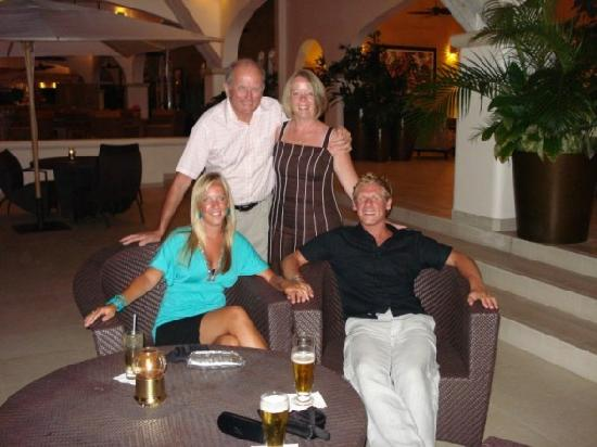 Spice Island Beach Resort: our new mum and dad!!